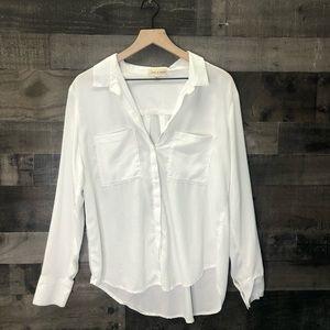 Cloth & Stone Lyocell Tencel Button Up Shirt